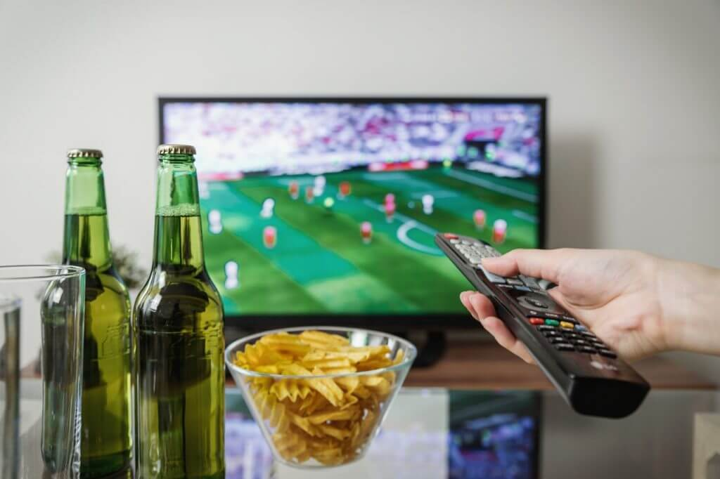 Fotboll på tv