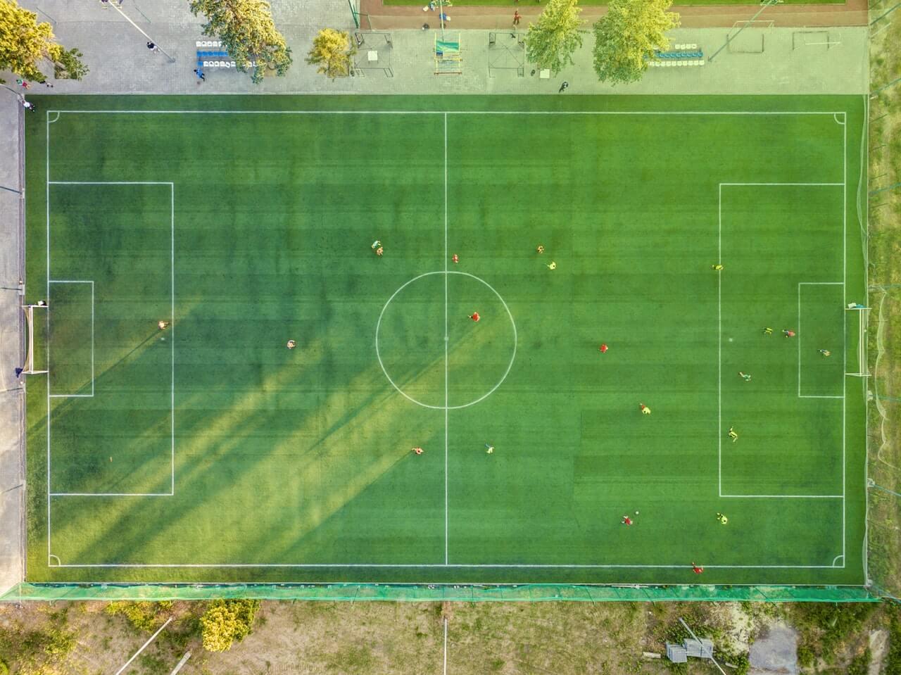 Tippar på fotboll ibland