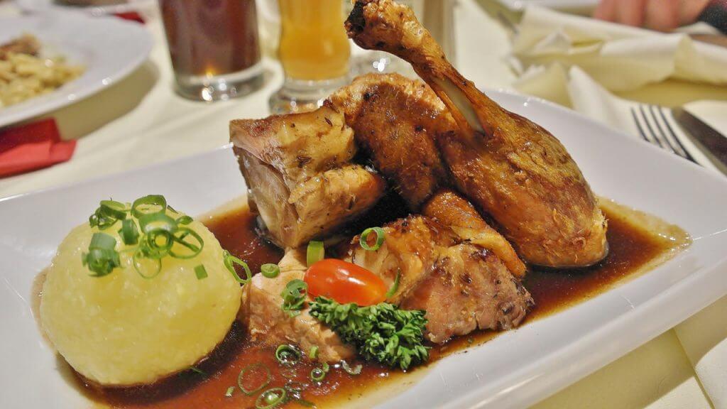 Marinerad kyckling som sedan grillats