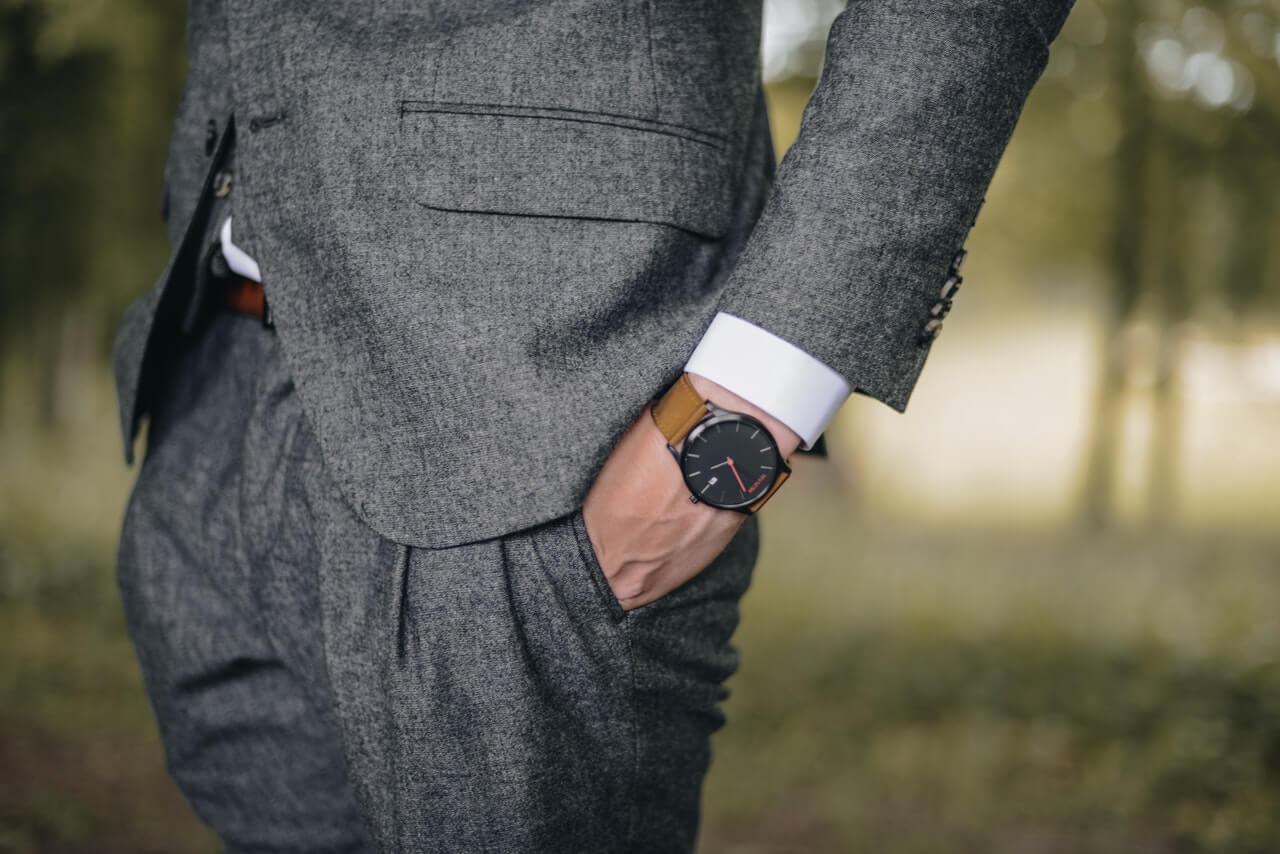 Ett stilrent ur för bröllop